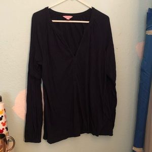 Navy Lilly Pulitzer Blouse